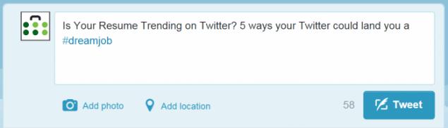 Twitter Job Search