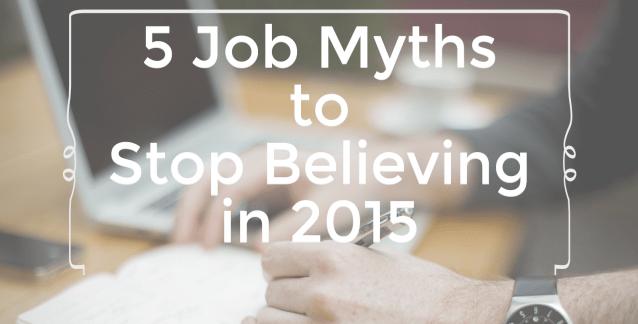 Job Myths Photo