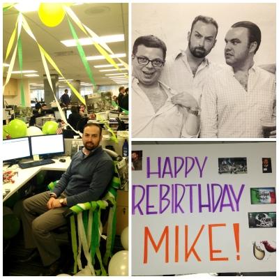 Mike Heberlein 3rd Rebirthday
