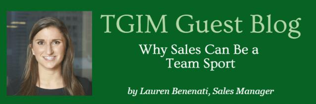 TGIM Guest Blog: Lauren Benenati