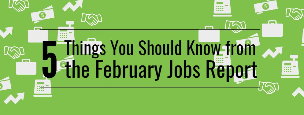 5 things feb job report title