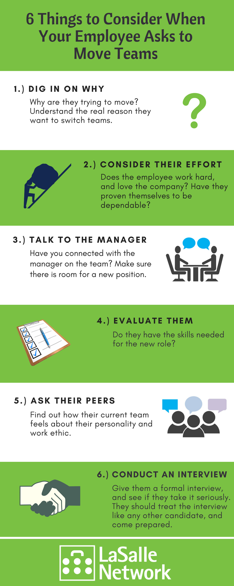 6 Things to Consider When Moving Teams Infographic