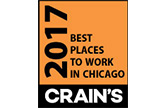 LaSalle Crain's best places to work in chicago 2017