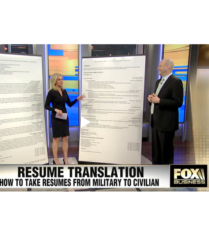 Make Your Military Resume Stand Out